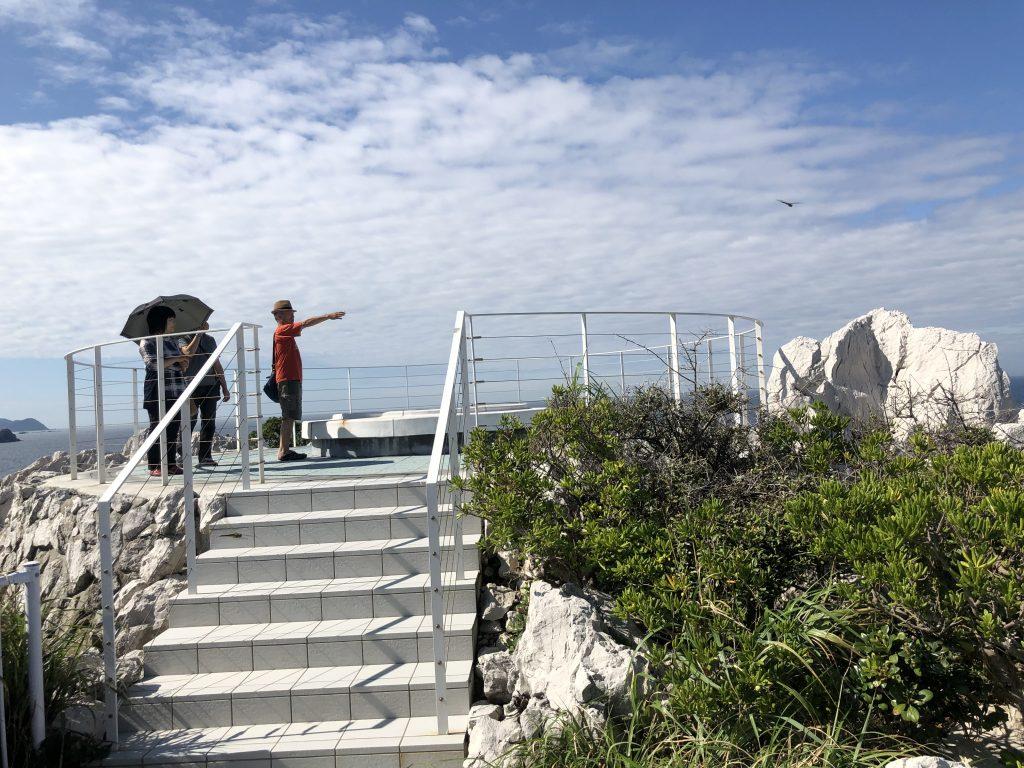 白崎海洋公園の展望台