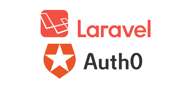 Laravel Auth0 ロゴ